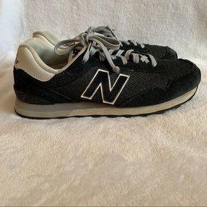 New Balance Mens Ml515csd Black Running Shoe Sz 8